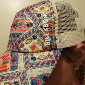 Billabong Patterned Trucker Hat